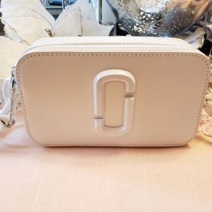 Marc Jacob's Snapshot DTM White Bag New